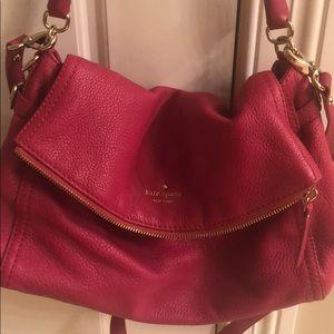 Kate Spade foldover satchel